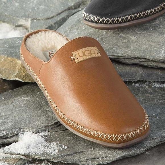 d3fedb5723e New Ugg Australia Tamara Leather Slip On Shoes NWT